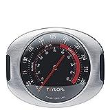 Taylor Pro Termómetro para Horno, Indicador de Temperatura Preciso, adecuado para Cocinar u Hornear, Acero Inoxidable Gris