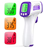 Termometro Infrarrojos JOYSKY Termometro Digital Infrarrojo sin Contacto con Pantalla LCD y Alarma de Fiebre Termómetro Laser médico para Bebé Adulto Temperatura Corporal y de Objeto