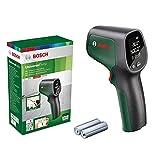 Bosch Home and Garden Termómetro infrarrojos, Rango de temperatura de -30°C a +500°C, 2 Pilas AA, en Caja